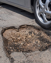 Report a Pothole Photo